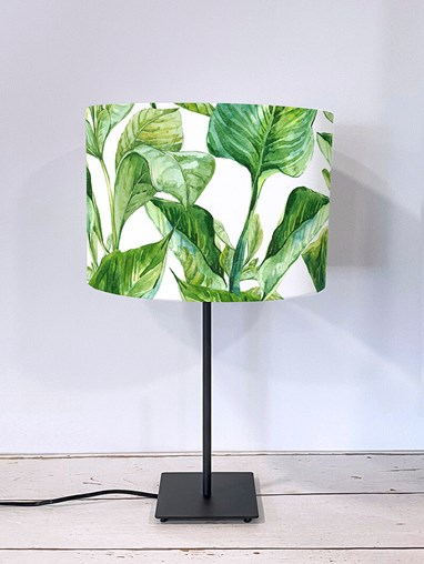 Jungle Leaves Day Lampshade