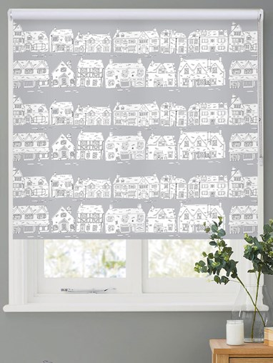 Cotswold Way on Cloud Roller Blind by Amanda Redwin