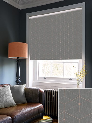 Illusion Stone Blackout Electric Roller Blind