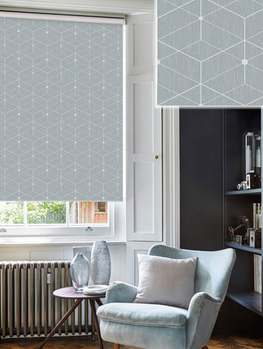 Illusion Pebble Daylight Electric Roller Blind