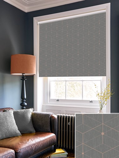 Illusion Stone Daylight Electric Roller Blind