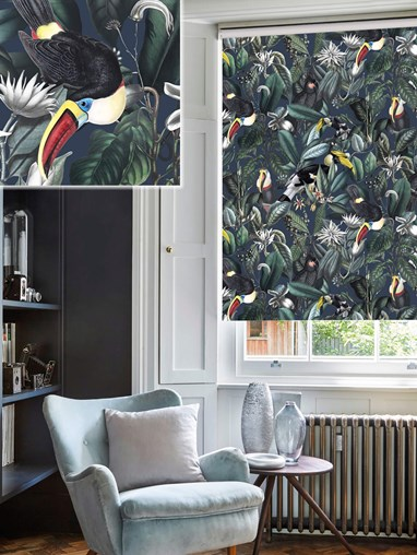 NeoTropical Marine Daylight Electric Roller Blind