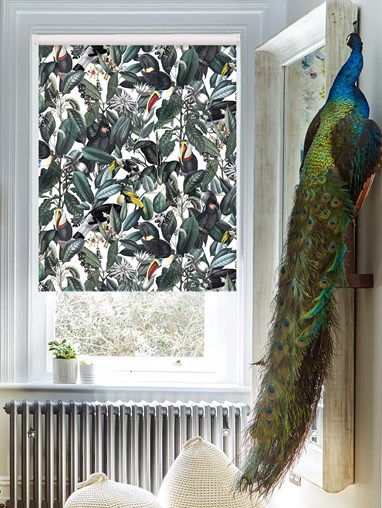 NeoTropical Natural Daylight Electric Roller Blind