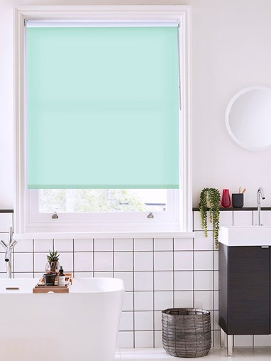 Mint Cream Daylight Roller Blind