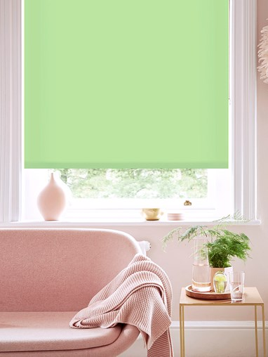 Stem Green Daylight Roller Blind