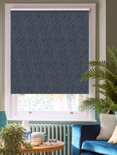 Sahara Marine Patterned Blackout Electric Roller Blind by Boon & Blake