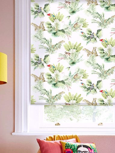 Honduras Natural Daylight Electric Roller Blind by Boon & Blake