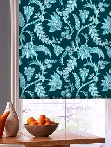 Java Teal Daylight Electric Roller Blind by Boon & Blake