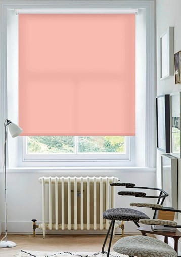 Blush Daylight Electric Roller Blind by Boon & Blake