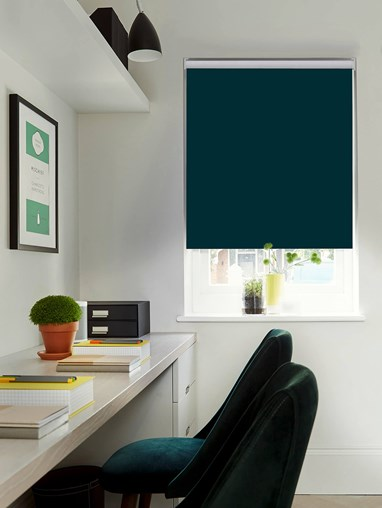 Lagoon Blackout Electric Roller Blind by Boon & Blake