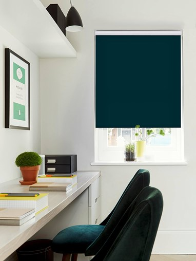 Lagoon Daylight Electric Roller Blind by Boon & Blake
