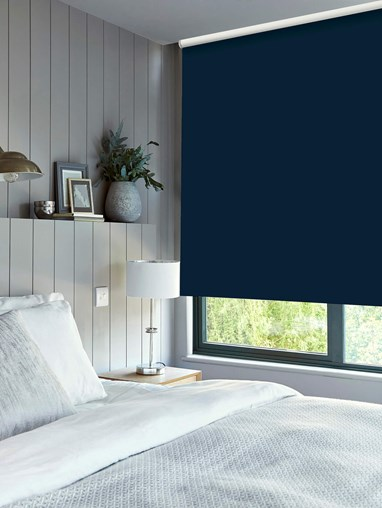 Marine Daylight Electric Roller Blind by Boon & Blake