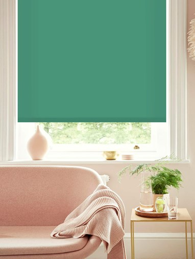 Mist Daylight Electric Roller Blind by Boon & Blake