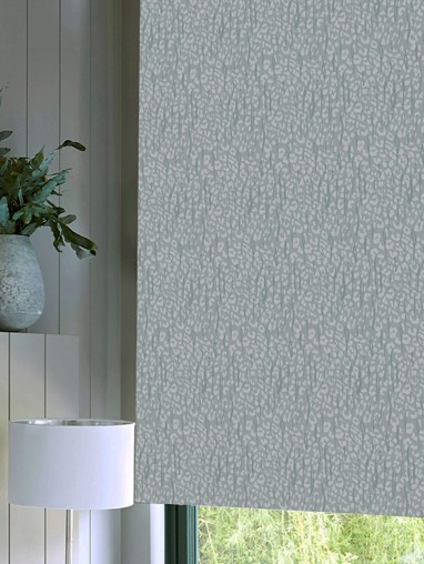 Sahara Mist Patterned Daylight Electric Roller Blind by Boon & Blake