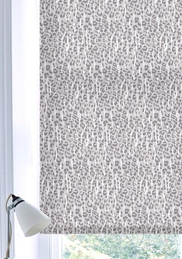 Sahara Natural Patterned Daylight Electric Roller Blind by Boon & Blake