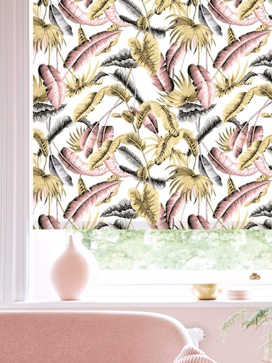 Venezuela Natural Daylight Electric Roller Blind by Boon & Blake