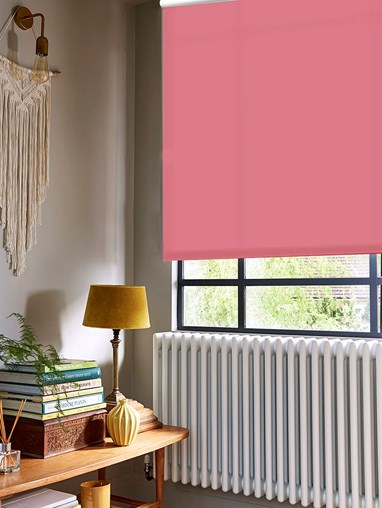 Hibiscus Daylight Electric Roller Blind