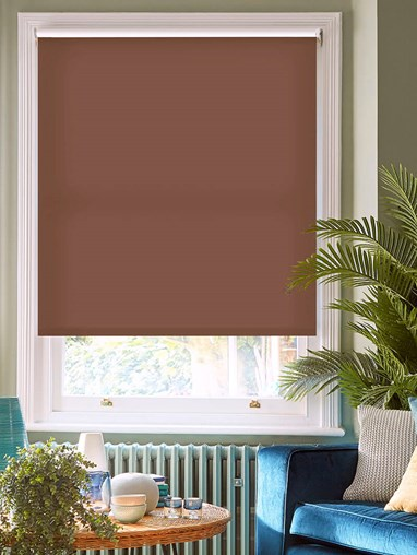 Tree Trunk Daylight Electric Roller Blind