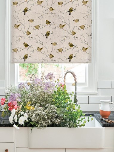 Goldcrest Electric Roller Blind by Lorna Syson