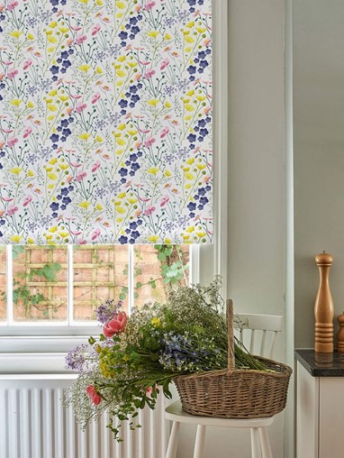 Meadow Electric Roller Blind by Lorna Syson