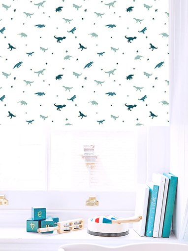 Jurassic Blackout Roller Blind