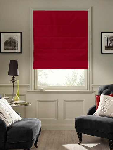Decadence Blackout Electric Roman Blind