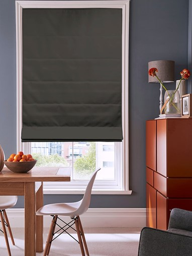 Soot Electric Roman Blind