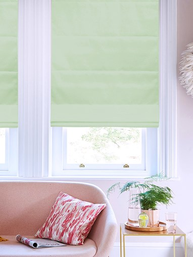 Babbling Brook Roman Blind