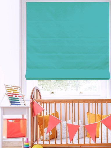 Oasis Electric Roman Blind