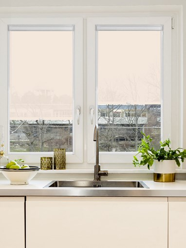 Dusky Cream 3% Sunscreen Perfect Fit Roller Blind