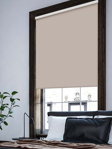 Eggshell Extra Large Electric Roller Blind