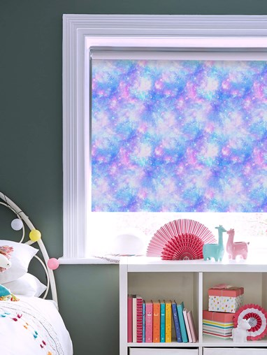 Cosmos Blackout Electric Roller Blind