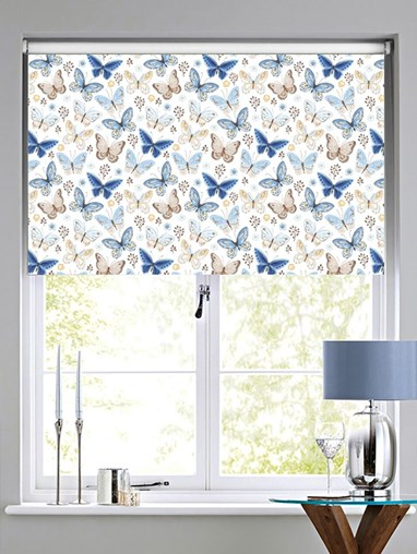 Mariposa Blackout Electric Roller Blind