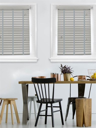 Dormouse Woodgrain Faux Wood Venetian Blind With Scale Tapes