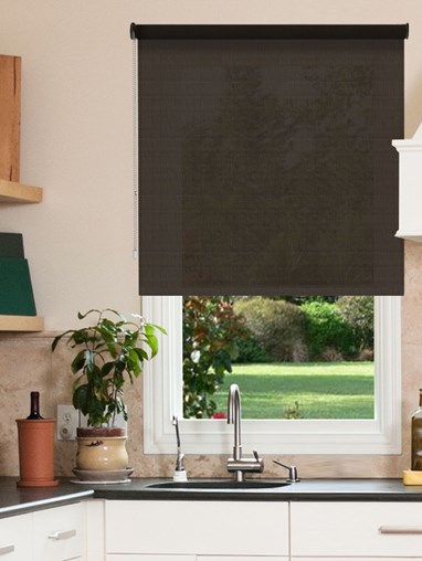 Fossil 1% Openness Sunscreen Roller Blind