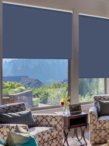 Galleon Extra Large Electric Roller Blind