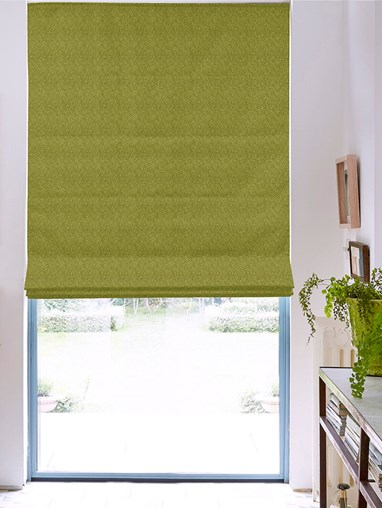 Hampton Moss Blackout Roman Blind