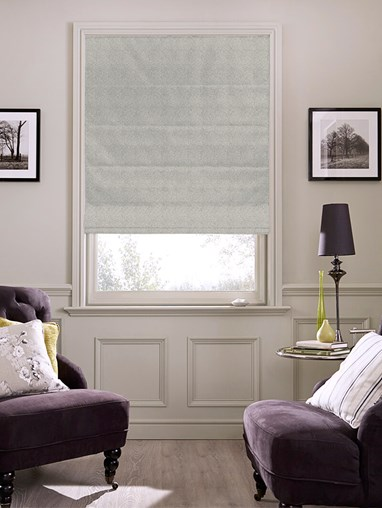 Hampton Quicksilver Blackout Roman Blind