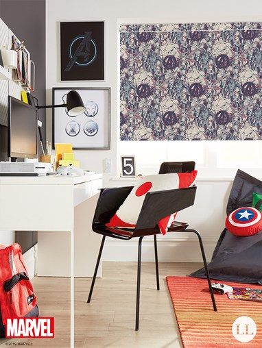 Marvel Heroes Blackout Roller Blind