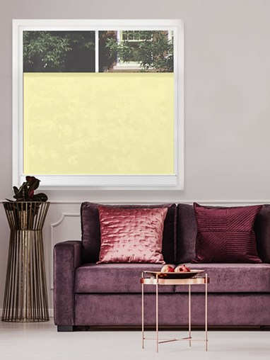 Cotton Cream 790E Bottom Up Blind