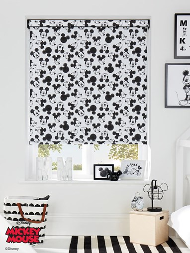 Disney Mickey Mouse Oh Boy! Blackout Electric Roller Blind