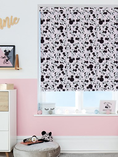 Disney Minnie Mouse Oh Hello! Blackout Electric Roller Blind
