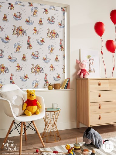 Disney Winnie The Pooh and Friends Blackout Electric Roller Blind