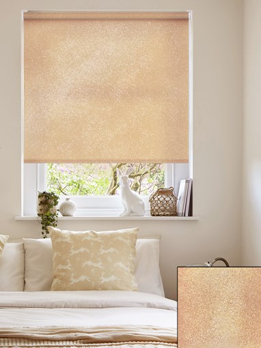 Pearl Copper Daylight Electric Roller Blind