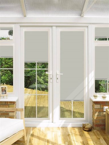 Blackout Shimmer Perfect Fit Roller Blind for Doors