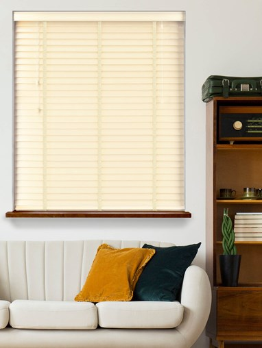 Tusk Real Wood Venetian Blind With Chantilly Tapes