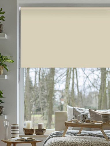 Stone Grey Blackout Thermal Roller Blind
