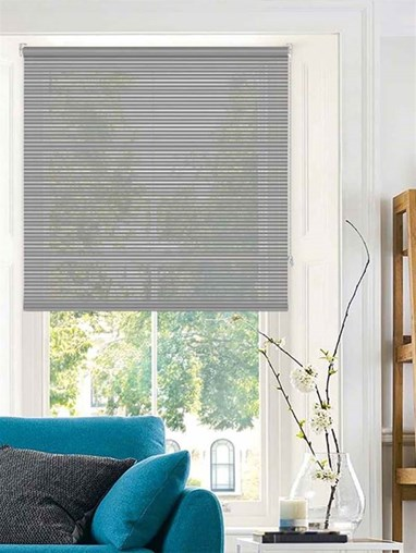 Stratus Sheer Dark Grey Roller Blind