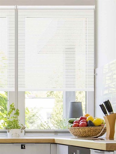 Stratus White Sheer Roller Blind
