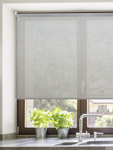 Grey 3% Openness Sunscreen Roller Blind